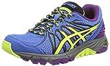 ASICS Gel-Fujitrabuco 3 - Zapatillas de deporte para mujer, Azul (Powder Blue/Flash Yellow/Purple 3907), 42.5