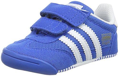 adidas Unisex Baby Dragon L2W Crib Lauflernschuhe, Blau (Bluebird/Ftwr White/Bluebird), 21 EU