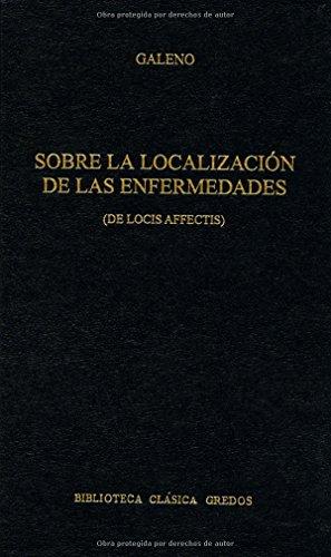 Sobre la localizacion enfermedades (B. BÁSICA GREDOS) por Galeno