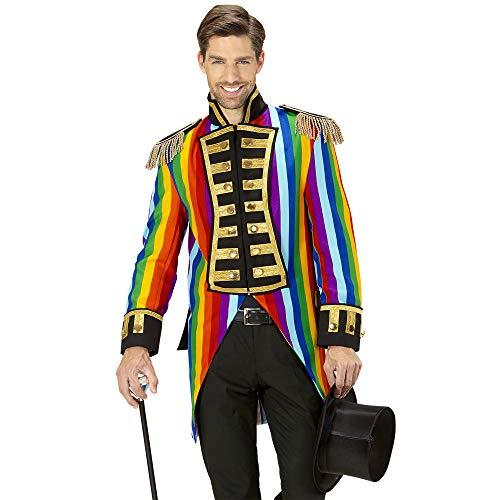 (WIDMANN 59332 Herren Frack Rainbow Parade kostüm, M, M)