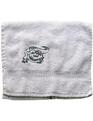 Handtuch aus Frottee mit Bestickung Krokodil