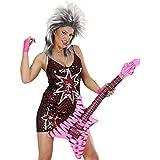 Guitarra Deko Aire hinchable (Varios Modelos Rocker Inflatable Guitar Rock Star goma Guitarra Party Guitarra Instrumento Fiesta temática Instrumento Musical accesorio para fiestas hinchable