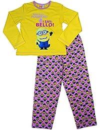 Minions - Pijama de Minions para niños amarillo 7-8 años