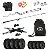 #9: GB Fitness 30 Kg Home Gym Set