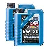 2x LIQUI MOLY 1136 Longtime High Tech Motoröl 5W-30 1L