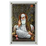 Bild Guru Nanak 48 x 33 cm Kunstdruck Plakat Poster Indien Sikhismus Hochglanz Dekoration