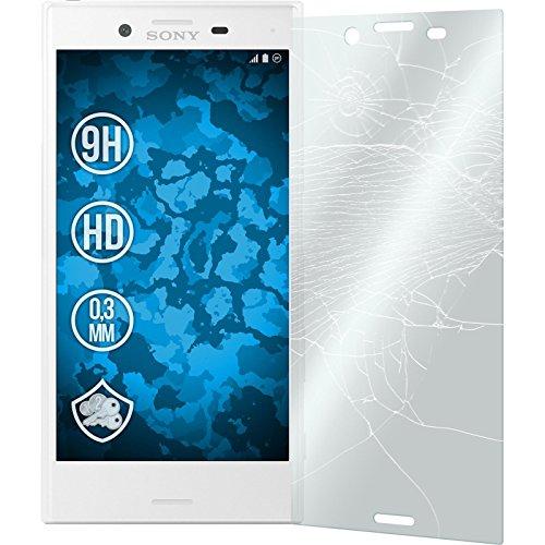 2 x Sony Xperia X Compact Glas-Folie klar PhoneNatic Panzerglas für Xperia X Compact