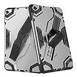 SCSY-Modekoffer Persönlichkeitstyp Rüstung Stoßfest Schutzhülle für iPad Mini 4 (Color : Gray)