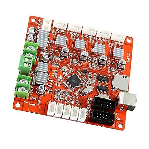Gazechimp Anet V1.0 Controller Board Mainboard Ramps 1.4 Version 4CH PWM DC drei Ausgang für 3D-Drucker