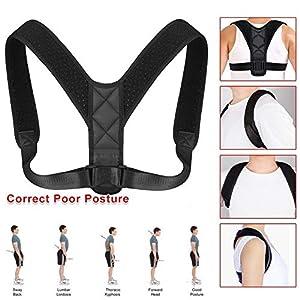 HOUSON Posture Corrector, Haltungskorrektur Rücken Geradehalter Schulter Rückenstütze für Damen und Herren verstellbar & atmungsaktiv