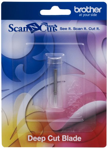 Brother CABLDF1 Scan-N-Cut Cutting Blade for Deep Cutter Silver Test