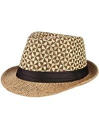 La Vogue Cappello Paglia Uomo Berretto Da Sole Cappello Jazz per Vacanza e6a61d964f2b