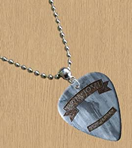 """Bon Jovi """"New Jersey Premium de Guitare–Collier Femme"""