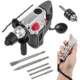 SDS Bohrhammer Schlaghammer Powerplus 1500 Watt + anndora LED Taschenlampe