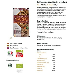 La Finestra Sul Cielo, Galleta de avena - 350 gr.: Amazon.es ...