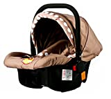 #8: Baybee Baby Car Seat Cum Carry Cot With Canopy (Chocalate)