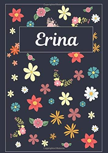 Erina: Taccuino | Diario | Sketchbook | 120 pagine | A4 | Bianco | Idee regalo