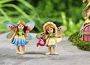 Fairytale Fairy Garden stehend Feen Set von 2