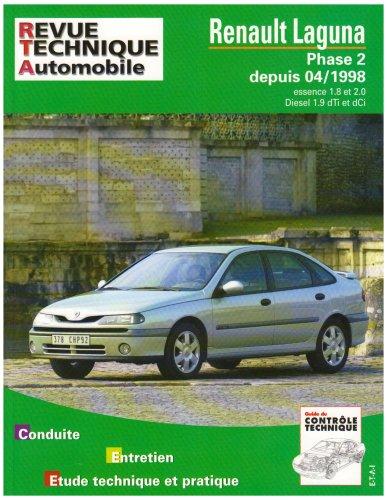 Revue Technique 634.1 Renault Laguna Phase 2