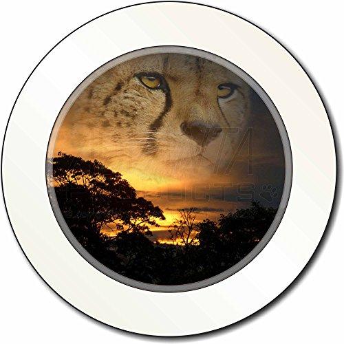 Cheetah -Uhr AutovignetteGenehmigungsinhaber Geschenk Cheetah Uhr