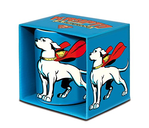 Krypto il supercane Tazza da caffè - DC Comics Tazza di porcellana - Krypto, the Superdog Tazza di tè - blu - design originale concesso su licenza - LOGOSHIRT