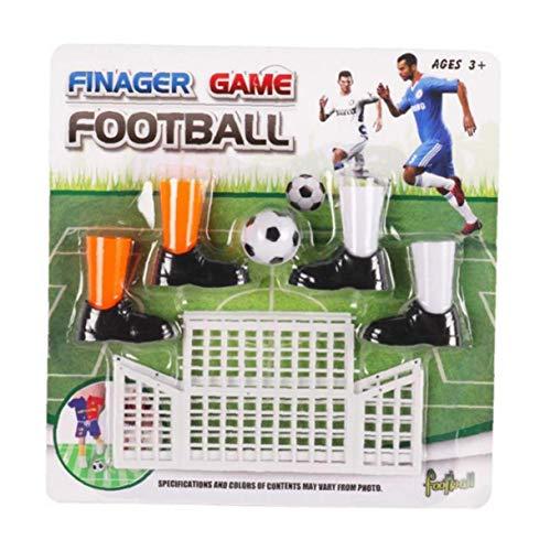 Finger Football-Spiel Funny Finger Spielzeug-Spiel-Sets Mit Zwei Toren Fun Fussball Spiel-Spielzeug-neuheit Spielzeug Für Familien Kinder Freund