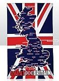 Great Britain Union Jack Tea Towel
