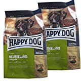 2 x 4 kg Happy Dog Neuseeland Lamm  mit Reis, Hundefutter