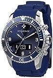 MyKronoz Zeclock Smartwatch con Funzione Smartphone con Movimenti al Quarzo, Blu