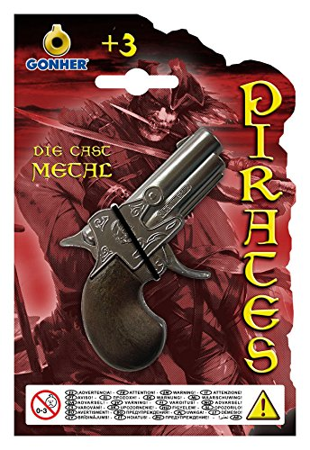 Gonher Pistola dei pirati,9 cm