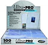 Ultra Pro Silver Series 9 Pocket Trading Card 100 Pages BoxP