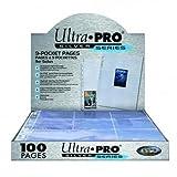 Ultra Pro 150122 - Silver Series, 100 Fogli per raccoglitore di schede - Ultra Pro - amazon.it