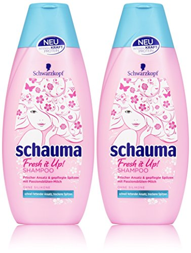 Schwarzkopf Schauma Fresh it Up Shampoo, 2er Pack (2 x 400 ml)