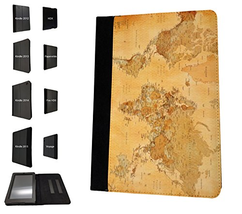 1088-cool-fun-old-vintage-world-map-design-amazon-kindle-fire-hd-7-1st-generation-2012-fashion-trend