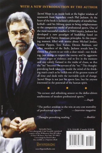 an analysis of the autobiography sacred hoops by phil jackson Phil jackson: phil jackson, american professional basketball player, coach, and executive who coached jackson cut his coaching teeth with the albany patroons of the continental basketball he also wrote several books, including sacred hoops: spiritual lessons of a hardwood warrior.
