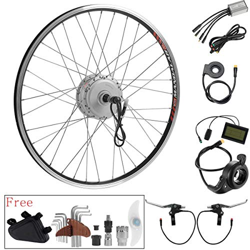 e4bde6c02a3 SEASON 36V 350W 26'' E-Bike Conversion Kit, Rear Wheel Electric Bicycle