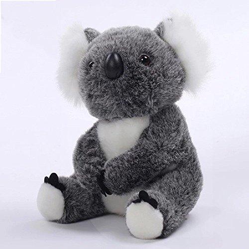 ForuMall Lindo Gris Coala Felpa de Peluche Koala Juguetes de Bebe Muñecas(20cm