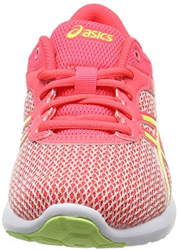 Asics Fuzex Lyte 2 Gs, Scarpe Running Bambina Rosa (Diva Pink/safety Yellow/white)
