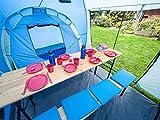 Skandika Daytona XXL blau, hellblau Familien-Zelt für 6 Personen, wasserdicht - 8