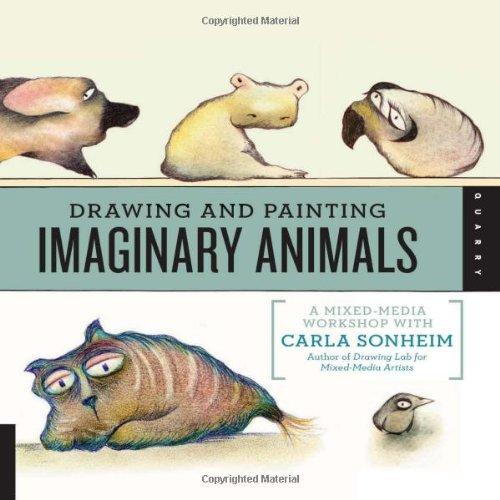 Quai Publishing une carrière books-drawing Papier et peinture animaux imaginaires par Carla Sonheim