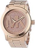 Michael Kors Damen-Armbanduhr XL Analog Quarz Edelstahl MK5661