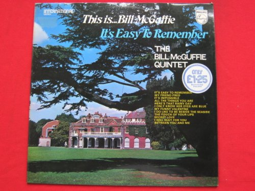Bill McGuffie This Is Bill McGuffie It's Easy To Remember LP Philips 6382036 NM/VG 1971