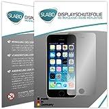 4 x Slabo Displayschutzfolie Apple iPhone 5 5S 5C SE Schutzfolie Folie No Reflexion-Keine Reflektion MATT - Entspiegelnd MADE IN GERMANY