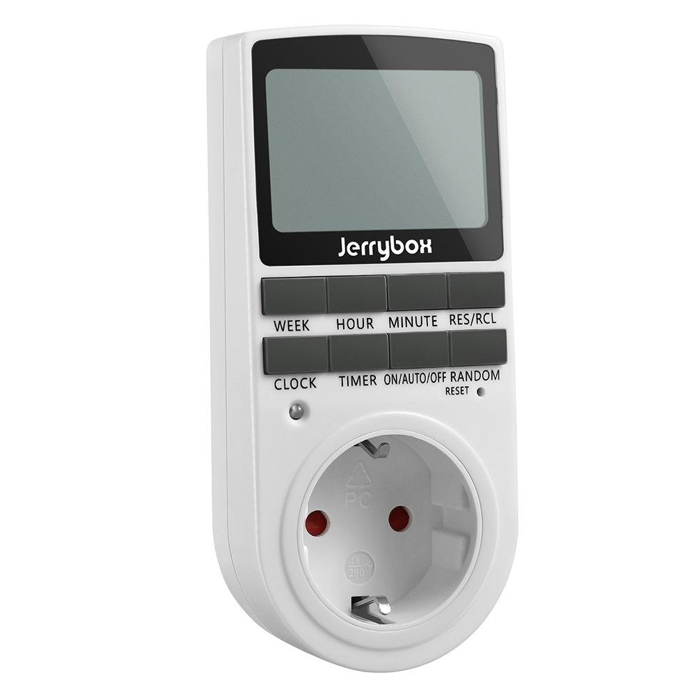 Jerrybox Enchufe/ Interruptor/ Temporizador