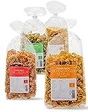 Clever Pasta Low-Carb-Pasta 4x250g Kichererbsennudeln, Bärlauch, Chili,Kurkuma