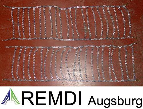 Remdi Augsburg Schneeketten 26x10.00-12 (26 x 10.00-12) Profi Ausführung Gliederstärke 4,5mm