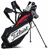 Titleist Tour Staff Stand Borsa da golf, unisex adulto, Bianco/Nero/Rosso, Taglia unica