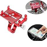 KOBWA Support de téléphone Portable pour vélo GUB, pour vélo réglable Universel...