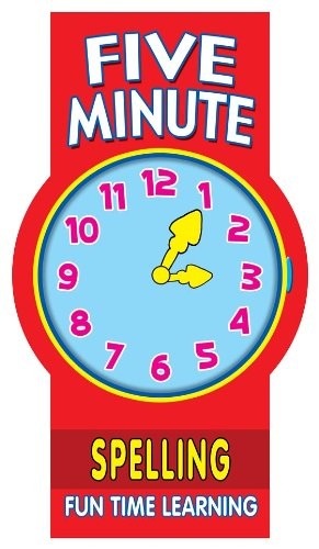 Five Minute Spelling: Fun Time Learning (5 Minute Learning Pads)