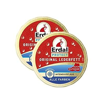 2 x graisse cuir originale de Erdal Protect - tout, Soins intensifs avec protection contre l'humidit